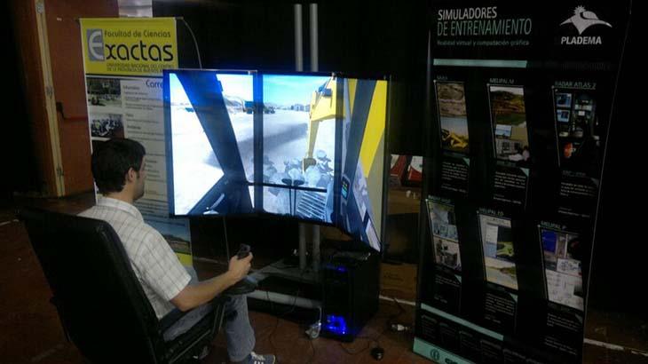 Simuladores: desarrollan dispositivos de entrenamiento para diversas actividades